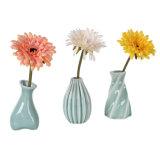 Los estilos de cerámica modernos del florero 3 para eligen la decoración casera moderna encantadora del equipamiento casero de la manera del crisol de flor del sostenedor de la flor de la jardinera