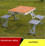 Im Freien Aluminiumtische und Stühle, Vielzweckklapptische und Stühle