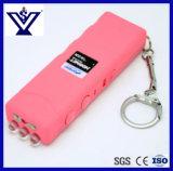 휴대용 분홍색 숙녀 자기방위는 기절시킨다 플래쉬 등 (SYSG-2018112)를 가진 Taser Tazer를