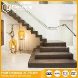 Diseño de la escalera para la escalera recta interior de la casa
