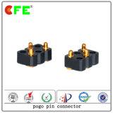 Connettori caricati a molla personalizzati del contatto di 3pin SMT Pogo