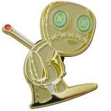 ダイカストをカスタム設計する蝶止め金が付いているバッジを
