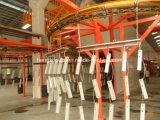 Ligne de peinture électrostatique manuelle de poudre