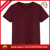 T-shirts de coton de la couleur solide des hommes de mode