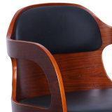 호두에 의하여 겉을 꾸미는 목제 본사 의자