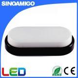 8 W/12W IP54 deux LED ovales de couleur avec lampe de plafond EC RoHS