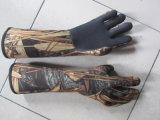 Luvas do neopreno de Camouflag para a caça (HX-G0015)
