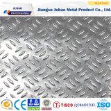 Placa Checkered decorativa antideslizante del acero inoxidable 304