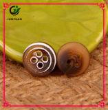 Круглая кнопка рубашки вспомогательного оборудования 4holes одежды кнопки