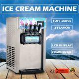3 générateur de crême glacée mou congelé mou de machine de crême glacée de saveurs par 12L