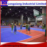 屋内および屋外スポーツの床張りのためのバスケットボールコートのフロアーリングの走路のプラスチック柔らかい床