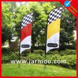 Bannière en plumes en plein air / Teardrop / Knife / Flag pour la publicité