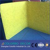 Comitato acustico decorativo interno della fibra di poliestere dei materiali
