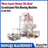 ABC tres capas de la máquina soplada coextrusión de la película