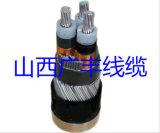 Cabo distribuidor de corrente de alumínio Multicore, revestimento de PVC Blindado de fio de aço