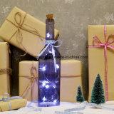 5LED 4.5 Vのクリスマスの結婚披露宴Xmasの妖精の星ライトびんストリングライト