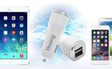 3.1A 3.4A de Slimme IC Dubbele Mobiele Lader van de Lader van de Auto USB
