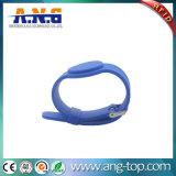 A borracha 125kHz RFID do estilo do relógio permitiu Wristbands para a piscina