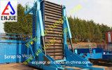 20 voeten en 40 van de Telescopische van de Container Voet Vervaardiging van de Kantelhaak