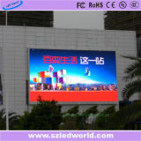 P10 tarjeta de la muestra de la visualización de LED del alto brillo 1/2scan para hacer publicidad