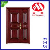 Porte en acier de porte ignifuge extérieure avec la qualité, certificat de ccc