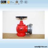 Sn50 Válvula de aterrissagem de incêndio de incêndio interior com adaptador BS