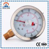 De vloeistof Gevulde Maat van de Druk van het Water van Druk van de Olie van de Maat van China de Goedkope