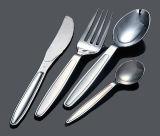 Fourchette en plastique Couteau de la cuillère PS couverts en argent