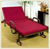 Cama supletoria plegable cama invitado cuna con colchón de espuma de memoria