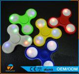 Tri Unruhe-Spinner-Spielzeug mit LED beleuchtet Handspinner