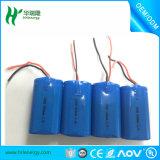 Bateria recarregável DC11.1V 12V para estabilizadores de câmera de câmera CCTV