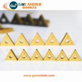 CNCのための超硬合金の切削工具のIndexable挿入