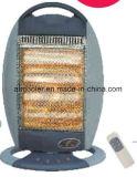 Aquecedor elétrico de 1600W com aquecimento de halogéneo