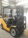 Neuer Dieselgabelstapler 3 Tonne mit japanischer Motor-Standardmast-Gelb