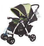 Baby-Spaziergänger mit zweiter Verschluss-und Sitzauflage