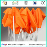 Polyuréthane revêtue 600d * 600d Polyester Anti-UV Outdoor Umbrella Fabric