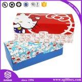 Ботинок младенца Socks коробка подарка Pcakaging одеяния одежды бумажная