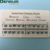 Denrum ортодонтические причудливый стандартные сетки основания кронштейны Edgewise