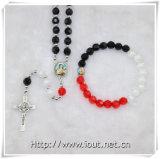 Комплект ювелирных изделий ожерелья Rosary шариков способа, перекрестное установленное ожерелье (IO-crs005)