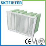 Qualitäts-nichtgewebter mittlerer Pocket Filter