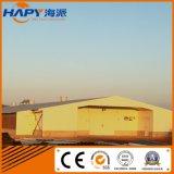 De Bouw van de Structuur van het staal in het Huis van het Gevogelte van Qingdao Hapy
