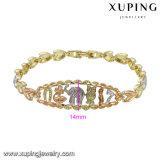 74498 Armband van de Juwelen van de Legering van het Metaal van de Olifant van de manier de Veelkleurige Dier Gevormde