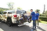 алюминиевая несущая мотоцикла Accessorier автомобиля 450lbs