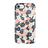 iPhone 7 Nebelfleck-Blumenmuster-Handy-Fall-harter Fall