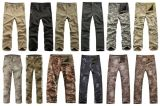 Pantaloni respirabili impermeabili di campeggio del panno morbido di caccia esterna tattica degli uomini