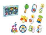 아이 아기 장난감이 플라스틱 교육 꿈 시리즈에 의하여 덜걱덜걱 소리난다
