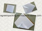 Weißes Farbe Microfiber Glas-Putztuch