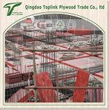 la película marina de la madera contrachapada del espesor de 4X8' 12m m hizo frente a la madera contrachapada para el proyecto de edificio