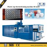 Plastic Cup PP Pet Thermoforming Machine Moule inclinable avec empileur automatique