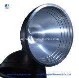 OEM CNC die de Delen van de Kegel van het Metaal van het Aluminium/van het Messing met de Pijp van het Uitsteeksel machinaal bewerken